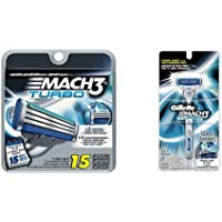 Gillette Mach3 Bundle (1 Handle + 16 Refills)