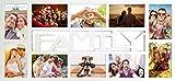 Empireposter - Collage Bilderrahmen Family - Kunststoff...