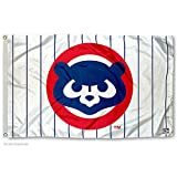 Chicago Cubs Vintage 80s Logo Flag and Banner