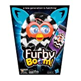 Zigzag Furby Boom Black and White Electronic Plush Figure