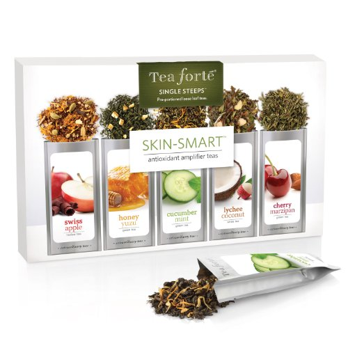 Tea Forte Skin Smart Single Steeps Sampler