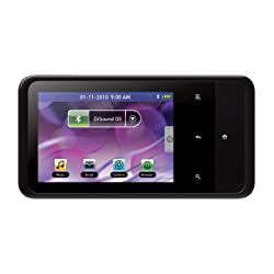 Creative ZEN Touch 2 MP3 Player with GPS 8GB (Black)