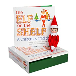 Elf on the Shelf: A Christmas Tradition (light girl scout elf)