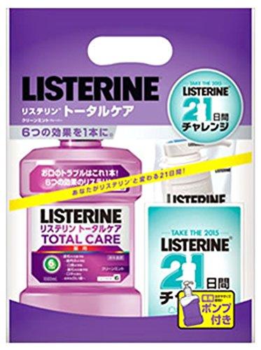 薬用 LISTERINE リステリン トータルケア 1000ml ポンプ付き[医薬部外品]