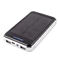 CALISTOUS 30000Mah Dual Usb Solar Power ...