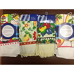 12-piece terry kitchhen towels set