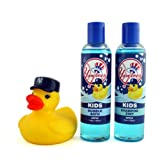 New York Yankees Game Ready Boys Bath Set, 8 Fluid Ounce at Amazon.com