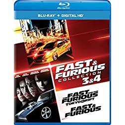 Fast & Furious Collection: 3 & 4 (The Fast and the Furious: Tokyo Drift / Fast & Furious (2009)) [Blu-ray]