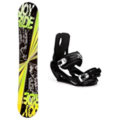 Buy Joyride Burst Yellow and Stealth 2 Snowboard and Binding Package by Joy Ride