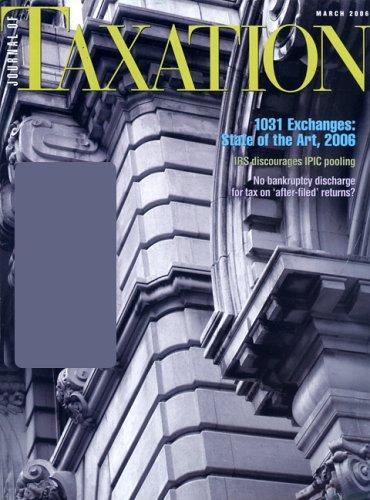 Journal of Taxation