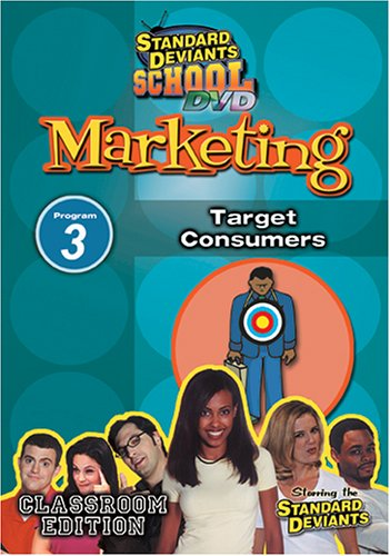 Standard Deviants School - Marketing, Program 3 - Target Consumers (Classroom Edition) (Standard Targets compare prices)
