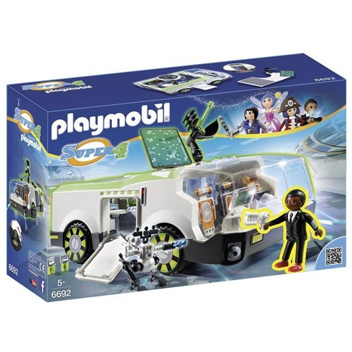 PLAYMOBIL Super 4 Techno Chameleon with Gene Building Kit (Playmobil Robot compare prices)