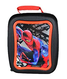 "Thermos Marvel Movie Series ""The Amazing Spider-Man"" Crush-Proof Single Compartment Insulated Lunch Bag with Image of Spiderman (Box Dimension: 9-1/2"" x 8"" x 4"")"