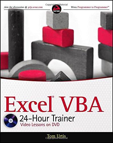 excel vba 24hour trainer software computer software