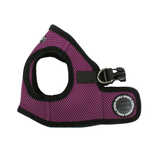 Puppia Step-In Soft Vest Dog Harness - Purple - MD (14.5