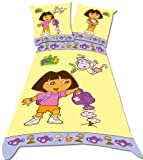 Dora The Explorer Watering Can Single Duvet Set Panel Print