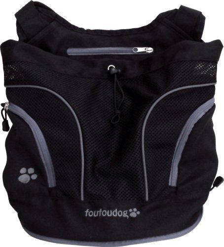 Bild von: FouFou Dog Poochy Pouch, Black, Medium by FouFou Dog