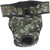 FACILLA® Sanitary Physiological Pants Diaper Panties Camouflage for Female Dog L