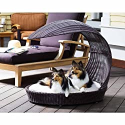 The Refined Canines Outdoor Dog Chaise Lounger