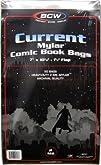 BCW Current Comic Mylar 2 Mil 7 X 10 12 50 Pack