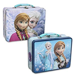 Disney Frozen Embossed Tin Lunch Box (1 Out of 2 Assorted)