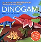 img - for Dinogami: 25 of Your Favorite Dinosaurs to Fold in an Instant book / textbook / text book