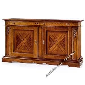 m bel buffet buffetschrank k chenbuffet polieren bassano holz klassisch. Black Bedroom Furniture Sets. Home Design Ideas