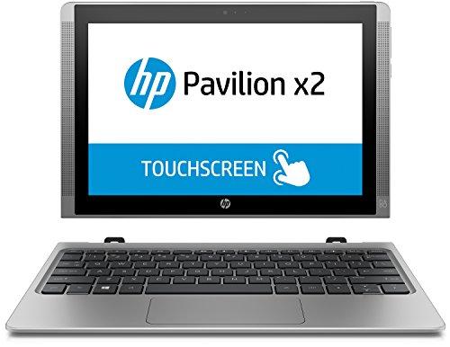 HP Pavilion x2 (10-n102ng) 25,7 cm (10,1 Zoll) Tablet PC (2in1 Laptop, Intel Atom Z8300, 2 GB RAM, 32 GB eMMC, Win 10) grau