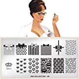 MoYou-London Nail Art Image Plate Pro XL Collection - 08