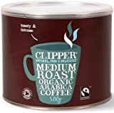 Clipper Fairtrade Organic Freeze Dried Coffee Tin (500g)