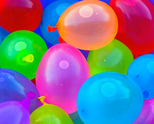 Mylife Multi Colored - Flexible Latex Rubber (200 Count Pack - Standard Size) Water Bomb Grenade Balloons (Great Way To Celebrate)