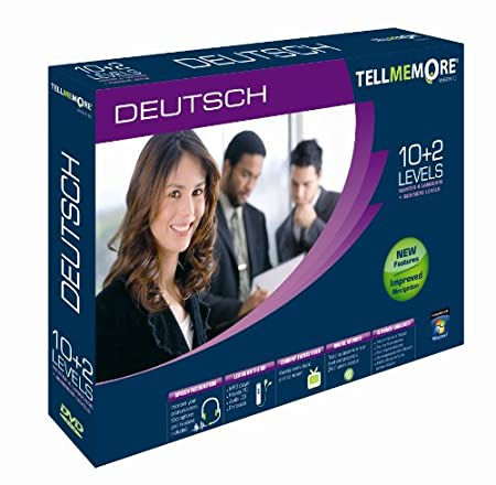 TELL ME MORE German v10 10 levels+ business (PC DVD)