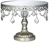 Antique Silver Beaded Small Cake Stand is coming
