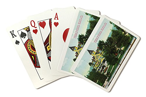 glendale-california-exterior-view-of-the-sanitarium-playing-card-deck-52-card-poker-size-with-jokers