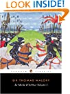Le Morte D'Arthur: Volume 1 (The Penguin English Library)