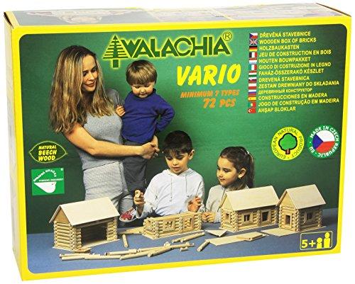 Walachia Vario Holzbausteine Holz Baukasten Modellbau