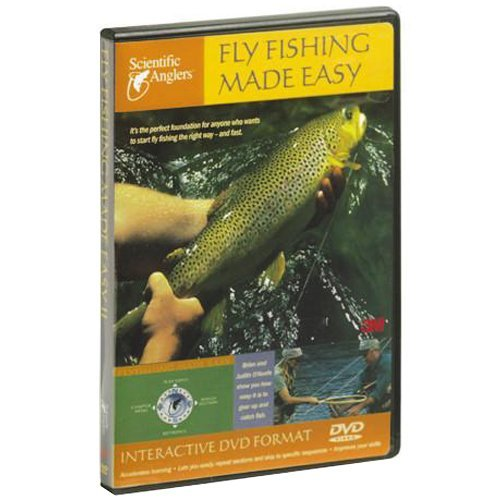 Fly Fishing Made Easy DVD Video Flyfishing Video Guide