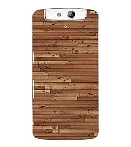 EPICCASE Wooden Case Mobile Back Case Cover For OPPO N1 (Designer Case)