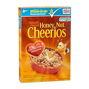 GENERAL MILLS CEREAL HONEY NUT CHEERIOS 12.25 OZ BOX