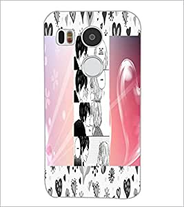 PrintDhaba Story Telling Picture D-2937 Back Case Cover for LG NEXUS 5X (Multi-Coloured)