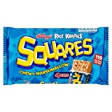 Kellogg's Rice Krispies Chewy Marshmallow Squares 4 x 28g case of 6