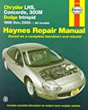 Chrysler LHS, Concorde, 300M & Dodge Intrepid, '98'00 (Haynes Automotive Repair Manual Series)
