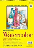 Strathmore 300 Series Watercolor Paper 11 in. x 15 in. pad of 12 wire bound