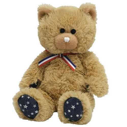 Ty Beanie Babies Uncle Sam - Bear Tan