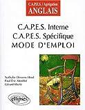 echange, troc Paul-Eric Morillot, Werlé Gérard - CAPES interne, CAPES spécifique : Mode d'emploi
