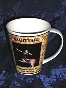 ZODIAC MYSTIC ASTROLOGY SAGITTARIUS MAGICAL HOROSCOPE BIRTH SIGN ART LARGE COFFEE and TEA CUP, COCOA and SOUP MUG