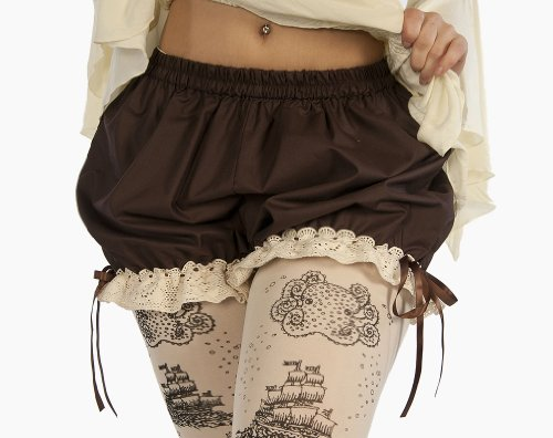 "Dress Like A Pirate Flirty Burlesque ""Pantalettes"" Wench Steampunk"