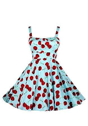 Ixia Wild Cherry Fold Over Dress-Aqua-Small