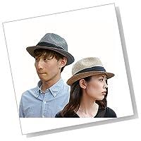 折りたたみ可能! 大きいサイズ 大きい メンズ レディース 麦わら帽子 ストローハット 000319-0000