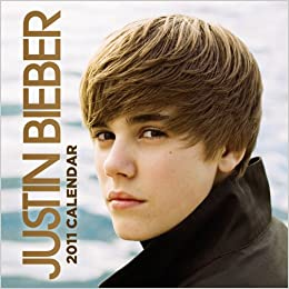 Justin Bieber 2011 12X12 Square Wall Calendar: BrownTrout Publishers